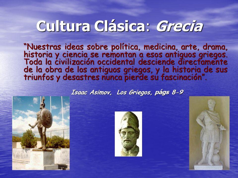 Isaac Asimov, Los Griegos, págs 8-9