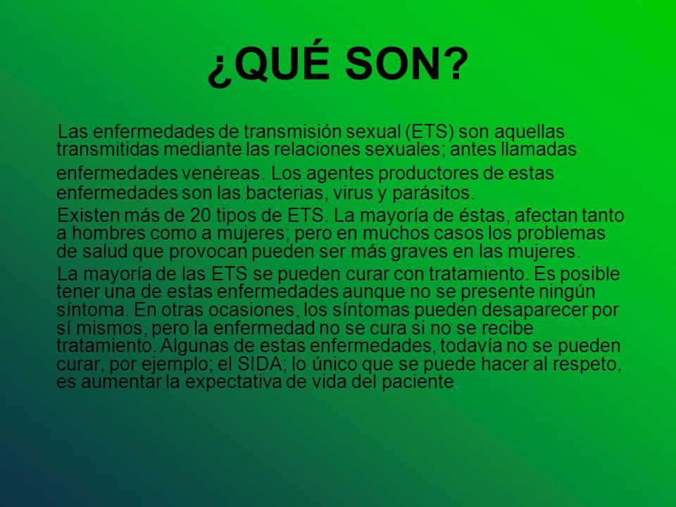 ¿QUÉ SON