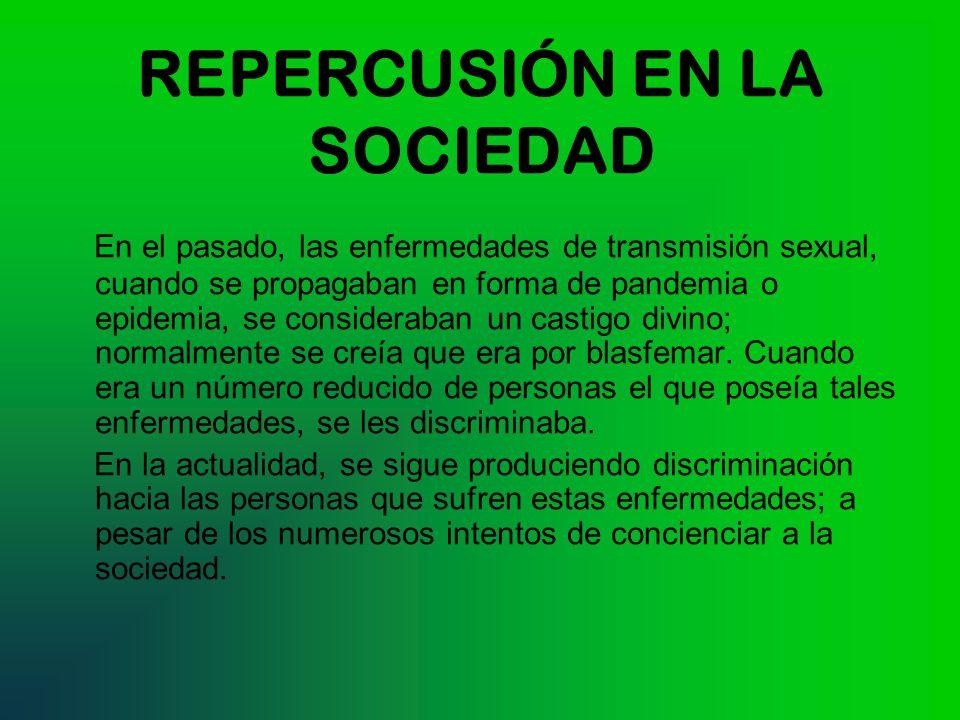 REPERCUSIÓN EN LA SOCIEDAD