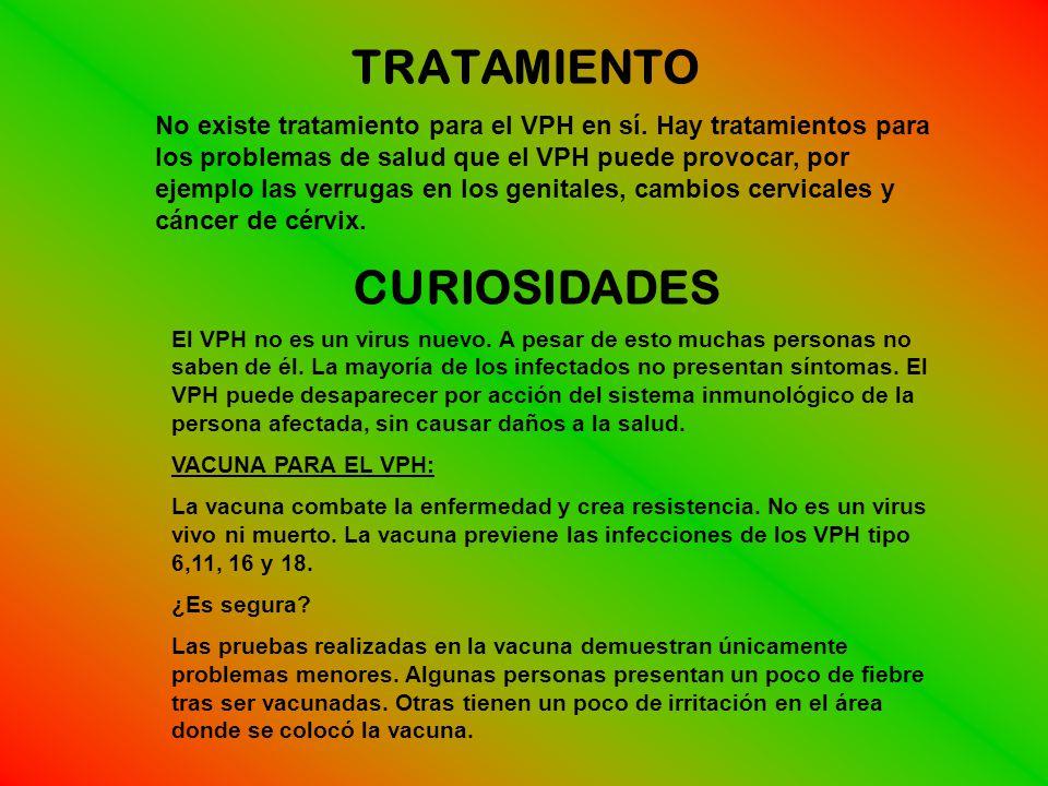 TRATAMIENTO CURIOSIDADES
