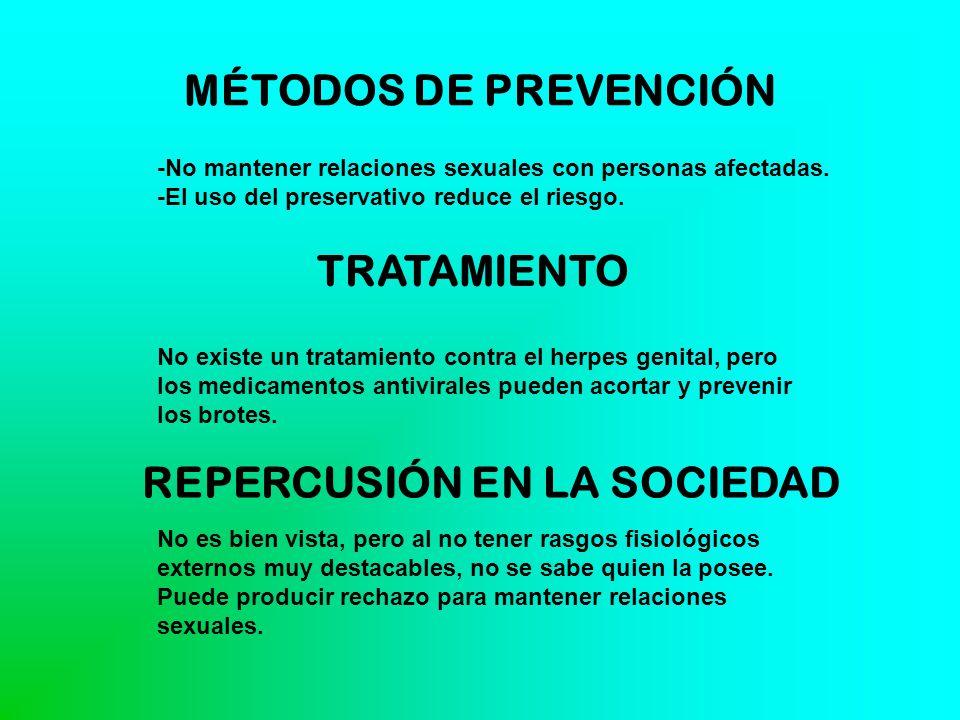 MÉTODOS DE PREVENCIÓN TRATAMIENTO