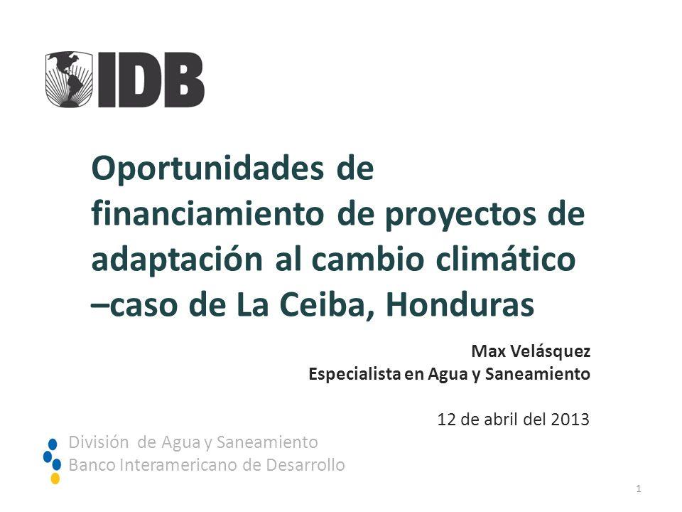 –caso de La Ceiba, Honduras