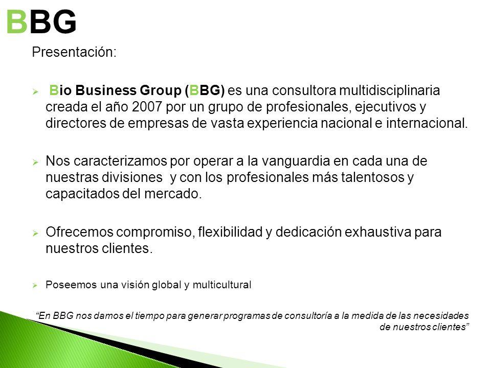 BBG Presentación: