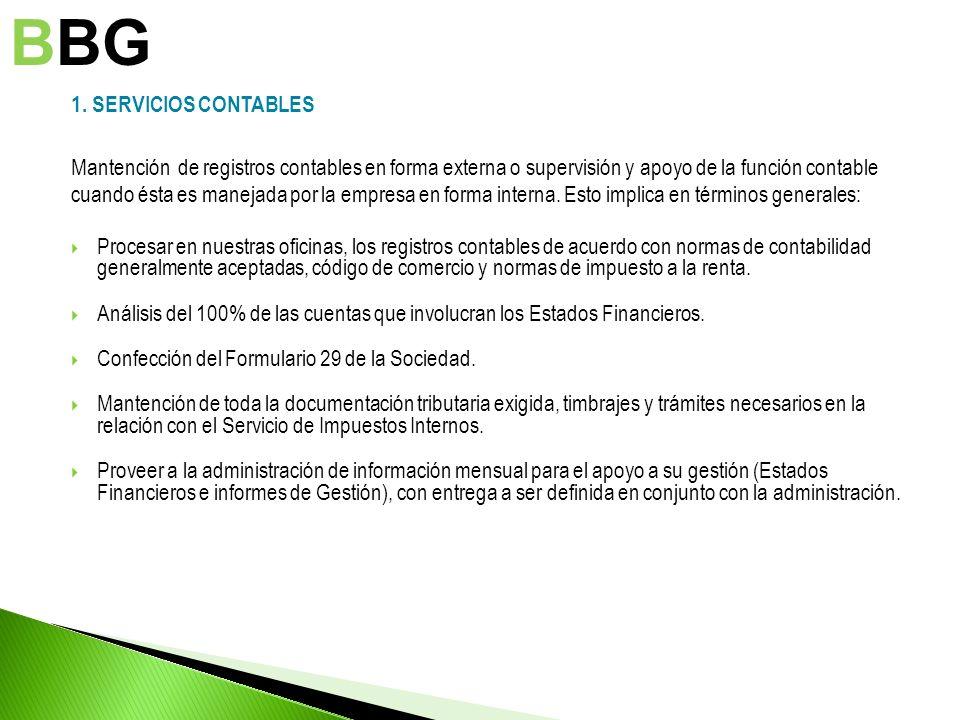 BBG 1. SERVICIOS CONTABLES