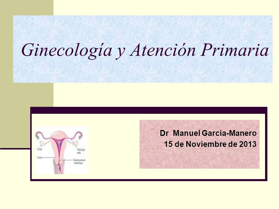 Ginecología y Atención Primaria