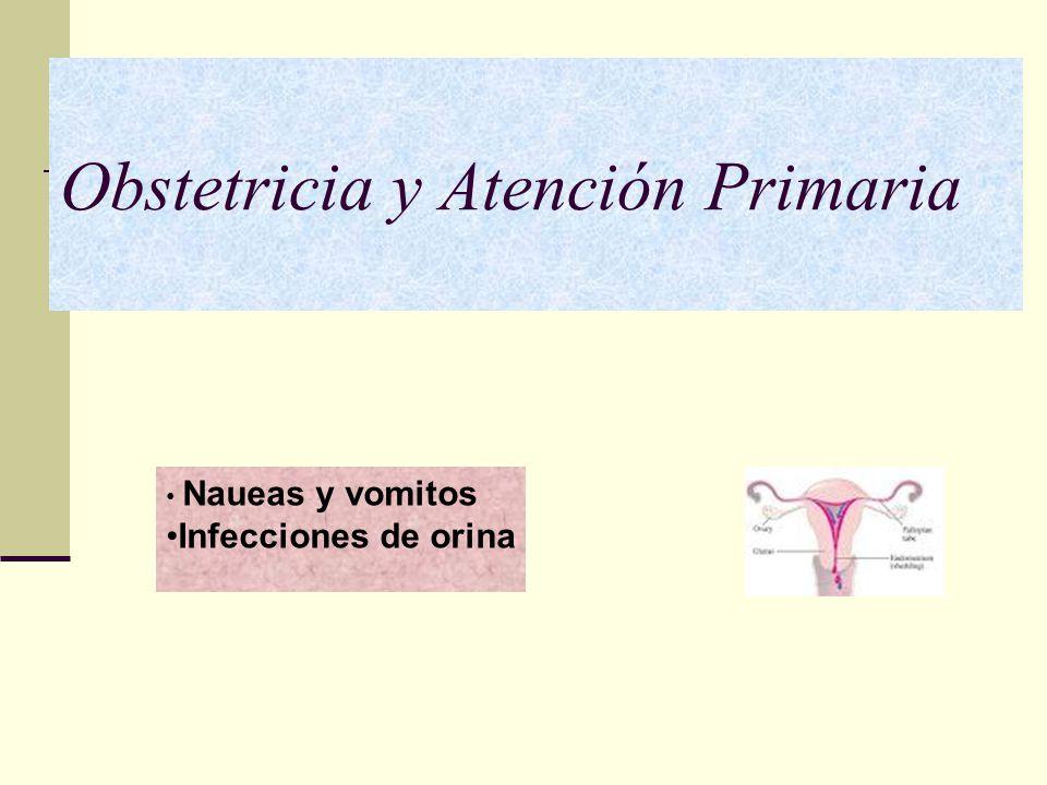 Obstetricia y Atención Primaria