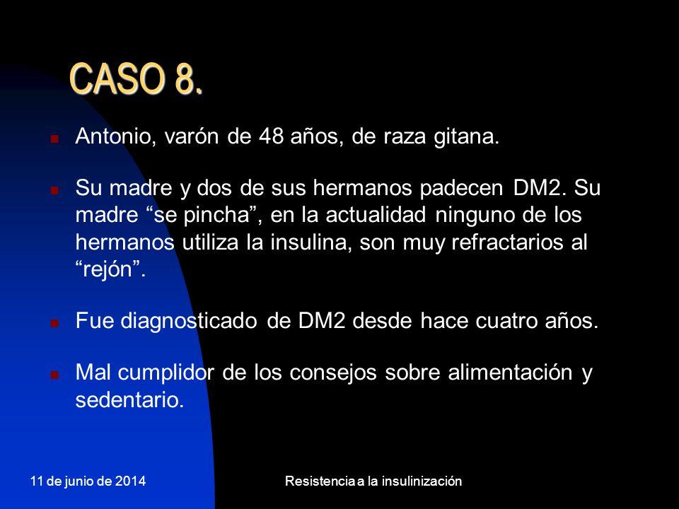 Resistencia a la insulinización