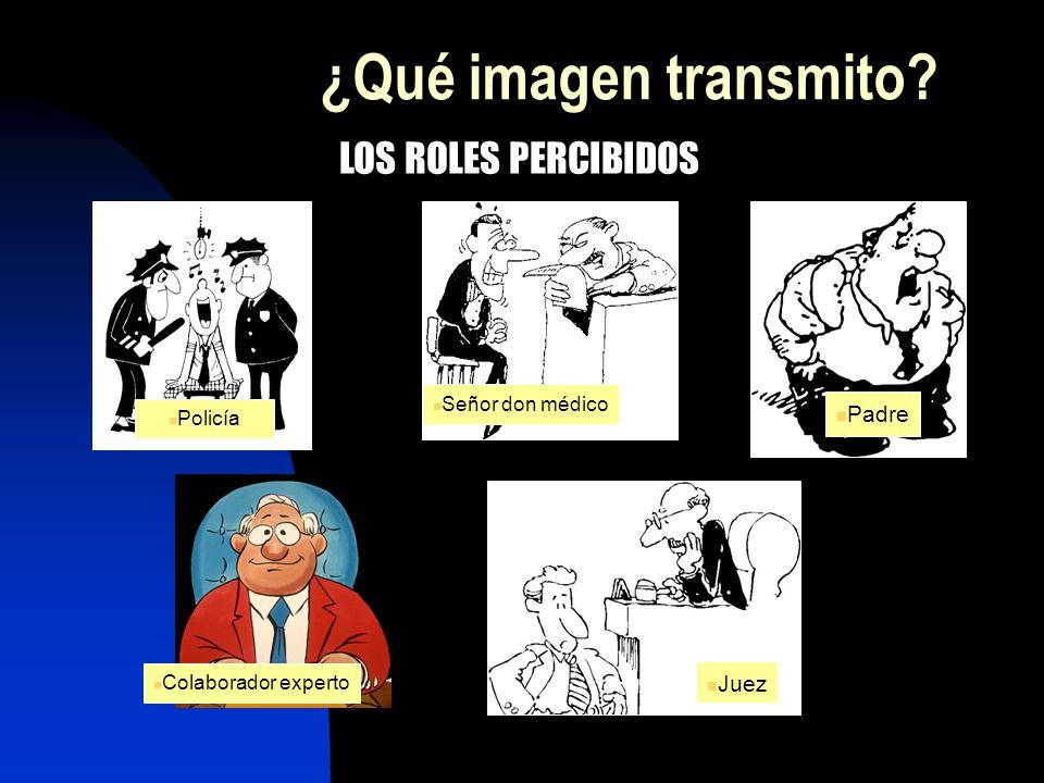 ¿Qué imagen transmito LOS ROLES PERCIBIDOS Padre Juez