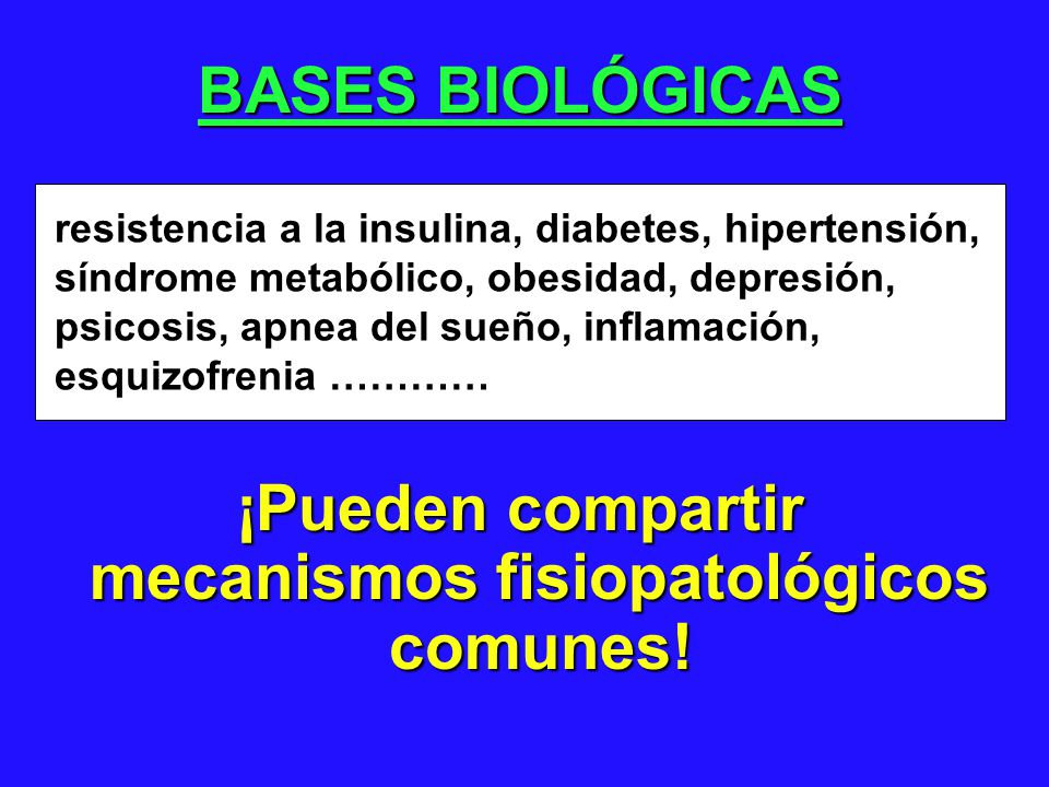 ¡Pueden compartir mecanismos fisiopatológicos comunes!