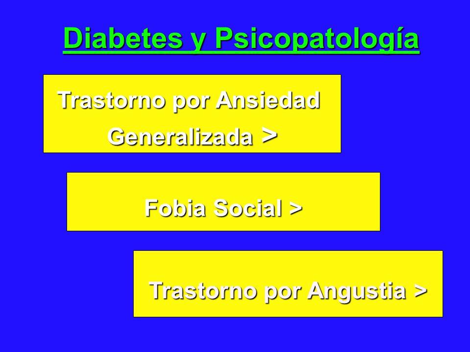 Diabetes y Psicopatología