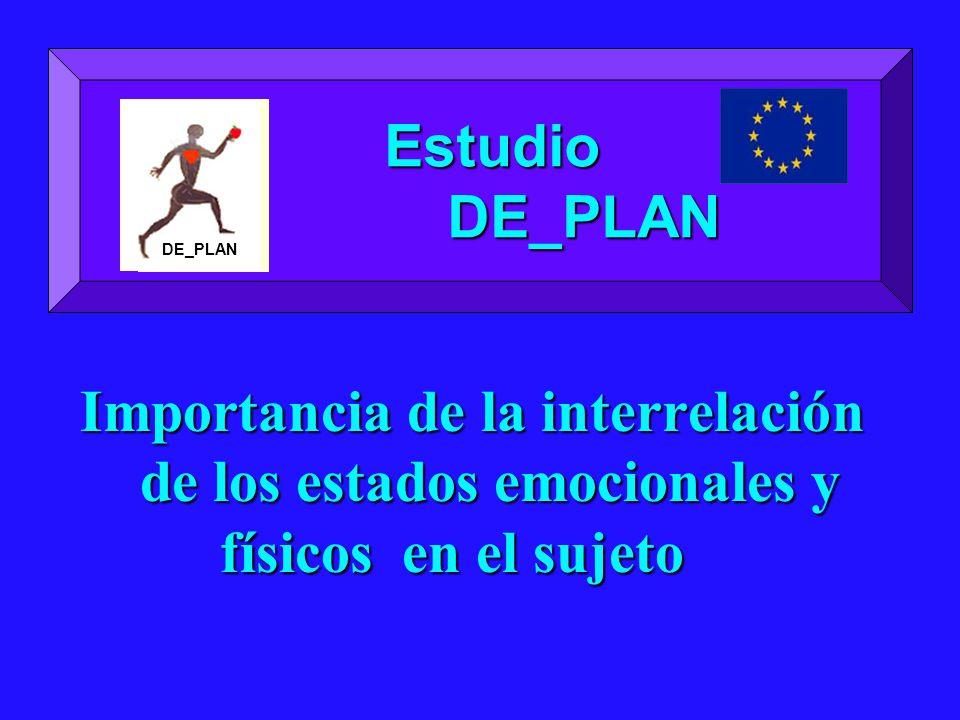Estudio DE_PLAN. DE_PLAN.