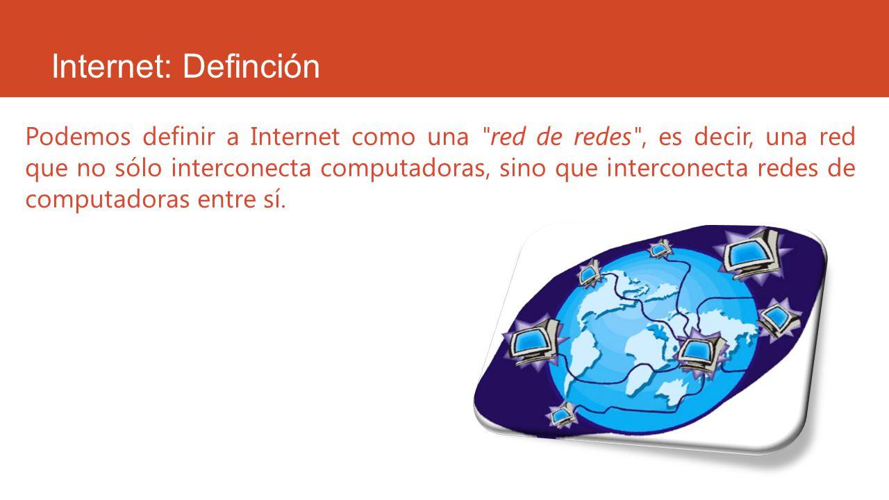 Internet: Definción