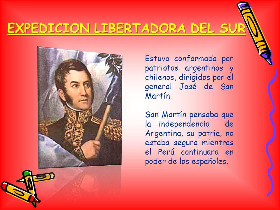 EXPEDICION LIBERTADORA DEL SUR