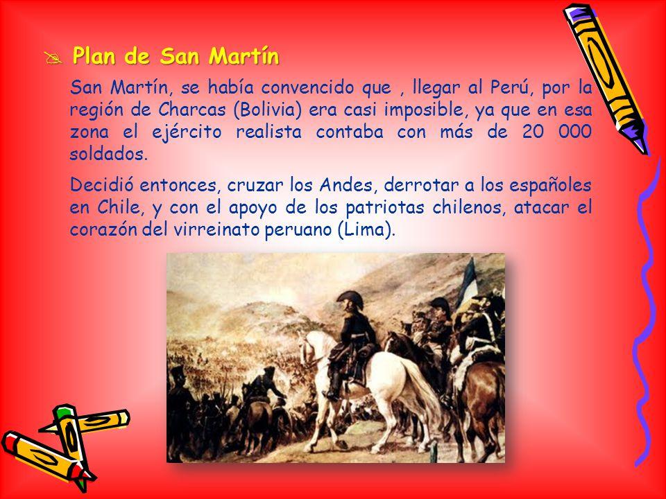 Plan de San Martín