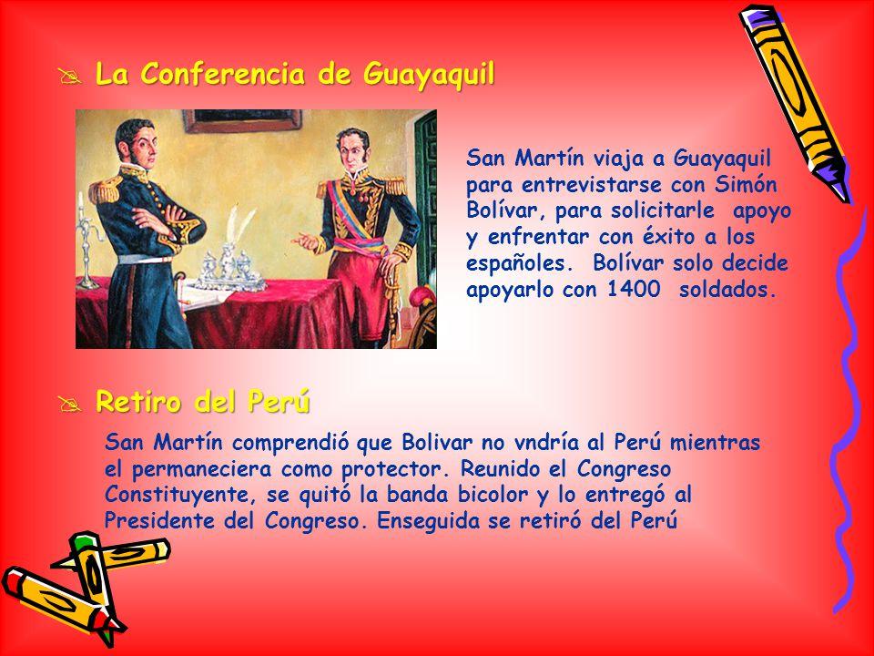 La Conferencia de Guayaquil