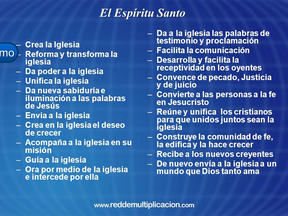 El Espíritu Santo Evangelismo