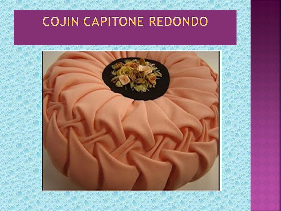 COJIN CAPITONE REDONDO