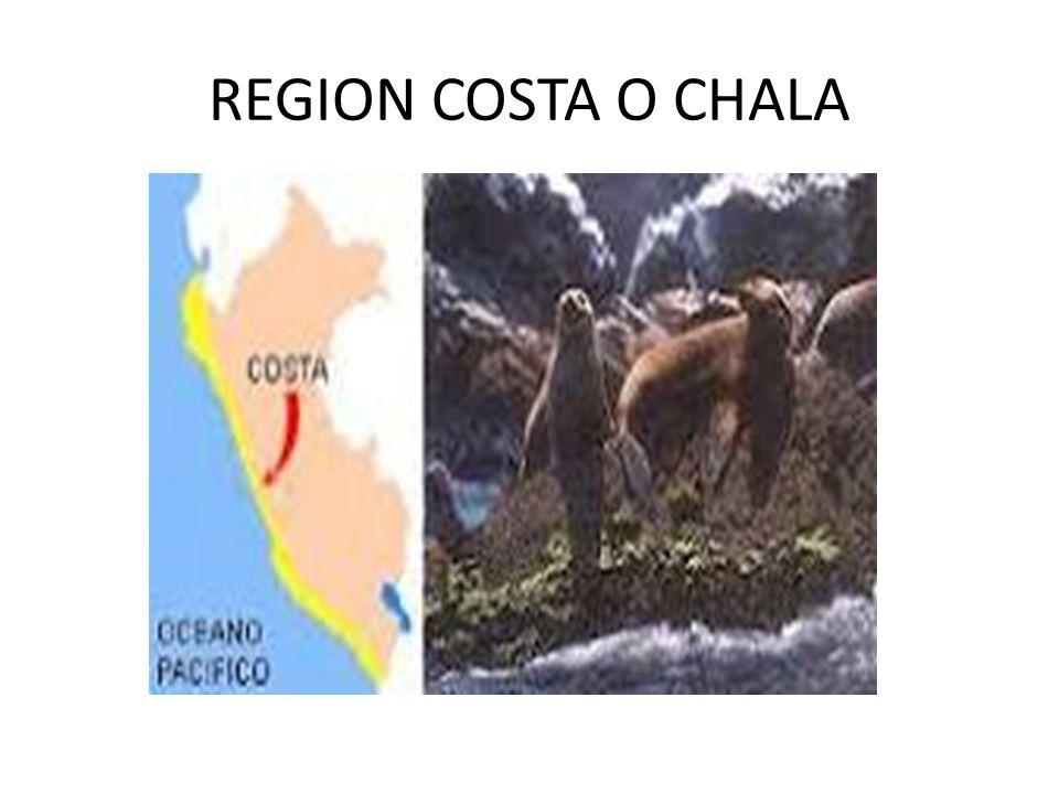 REGION COSTA O CHALA