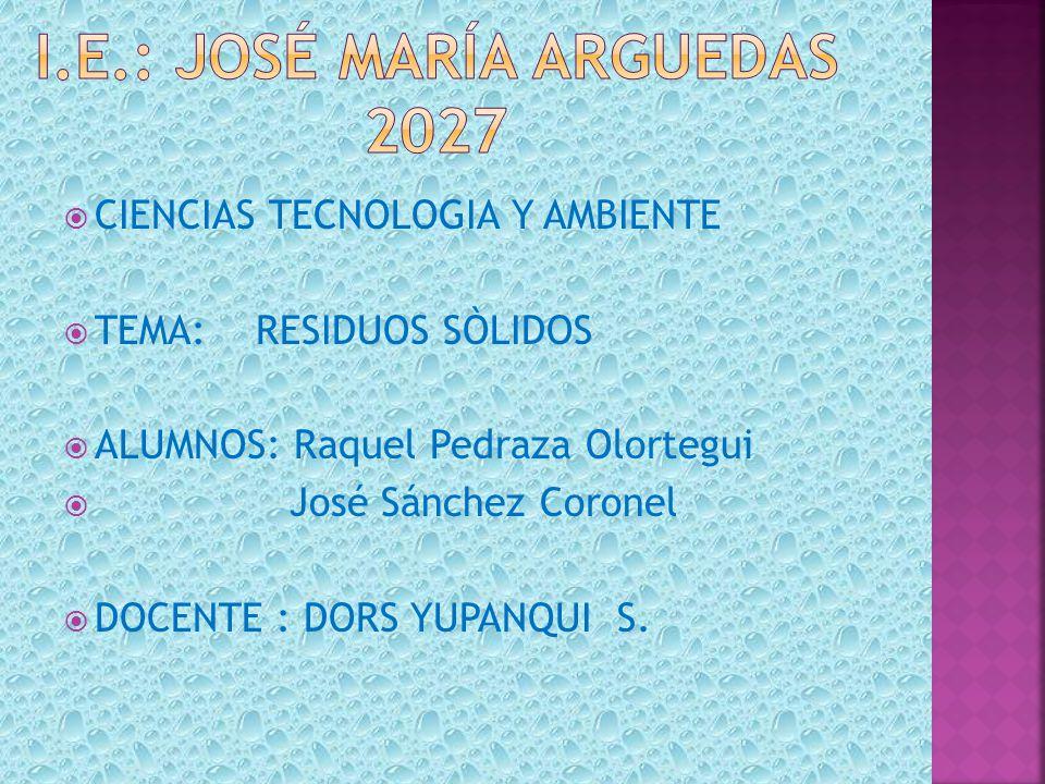 I.e.: José maría Arguedas 2027