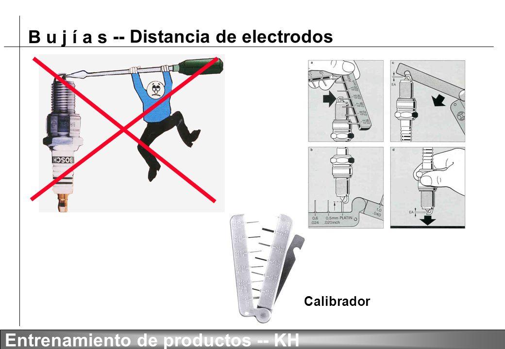 -- Distancia de electrodos