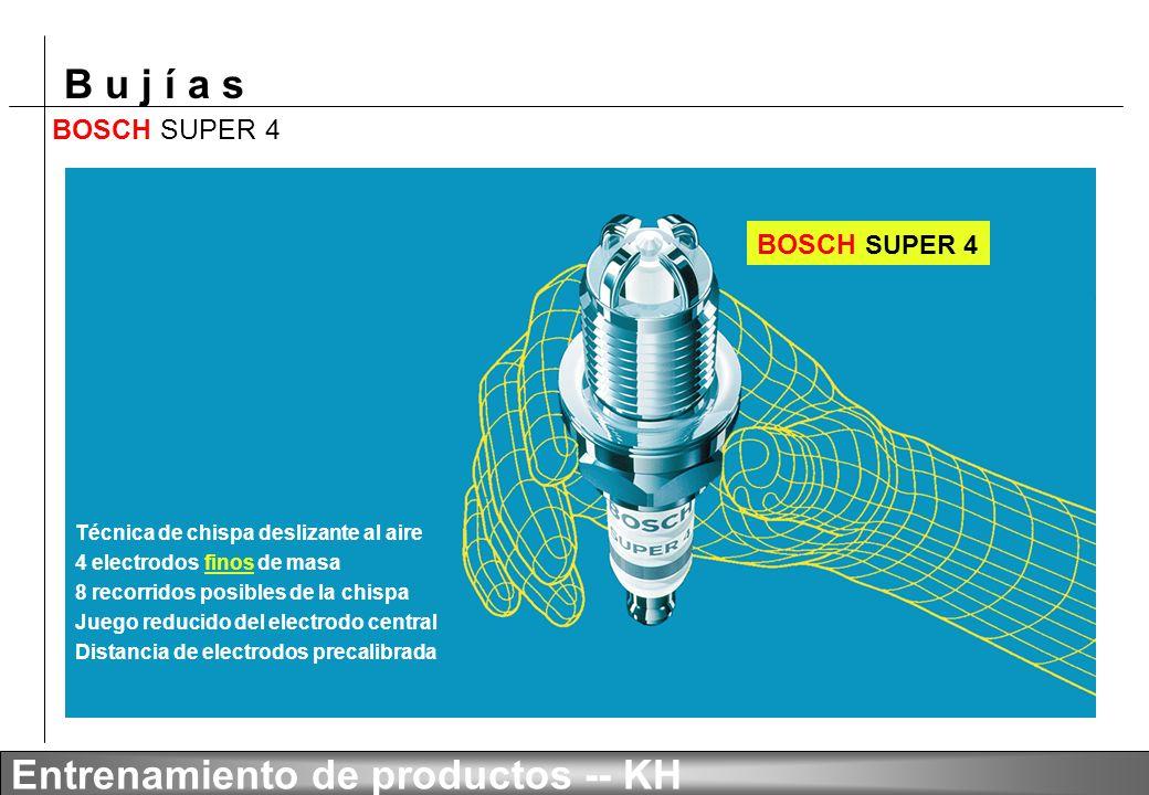 BOSCH SUPER 4 BOSCH SUPER 4 Técnica de chispa deslizante al aire