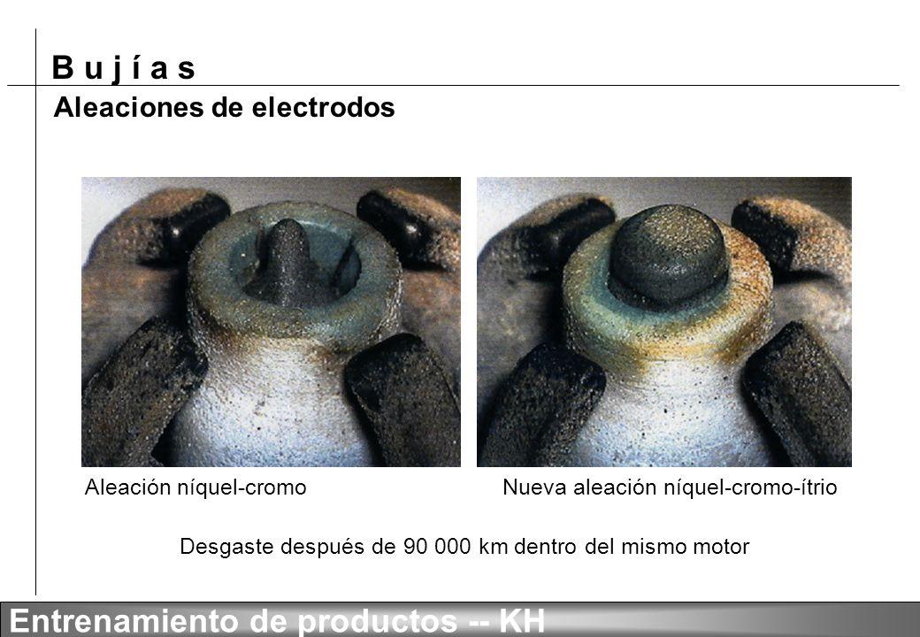 Aleaciones de electrodos