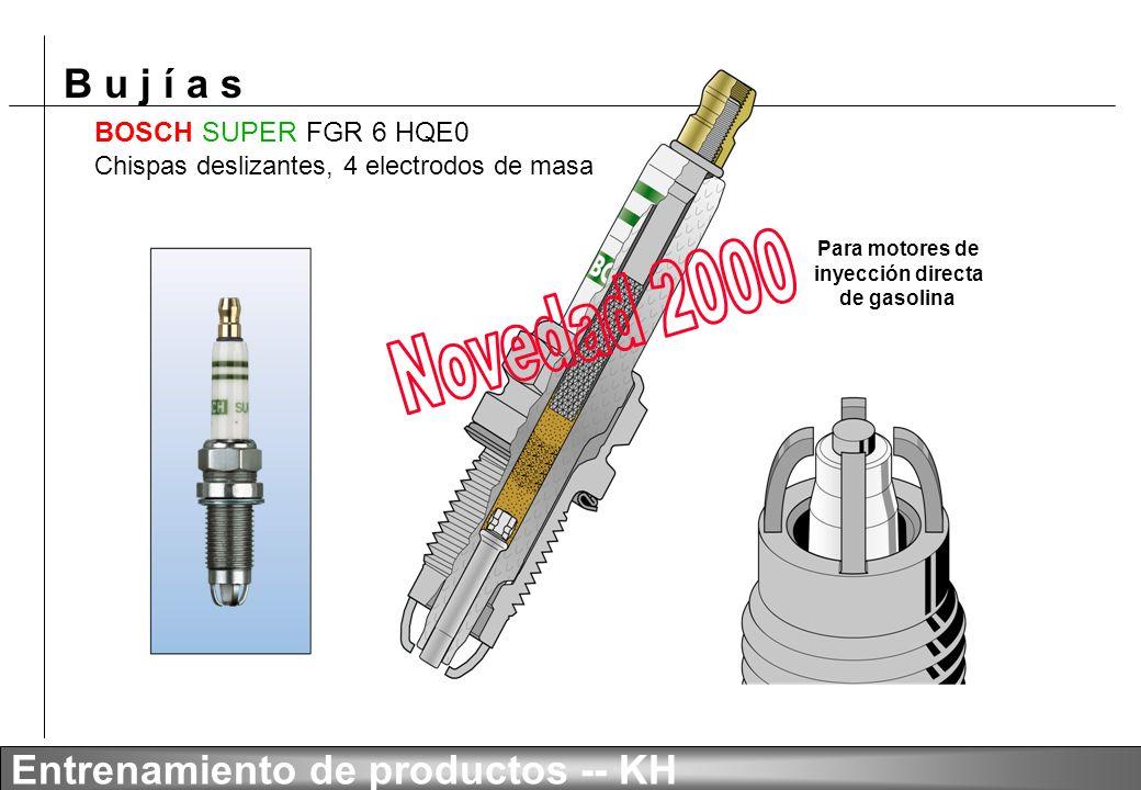 Novedad 2000 BOSCH SUPER FGR 6 HQE0