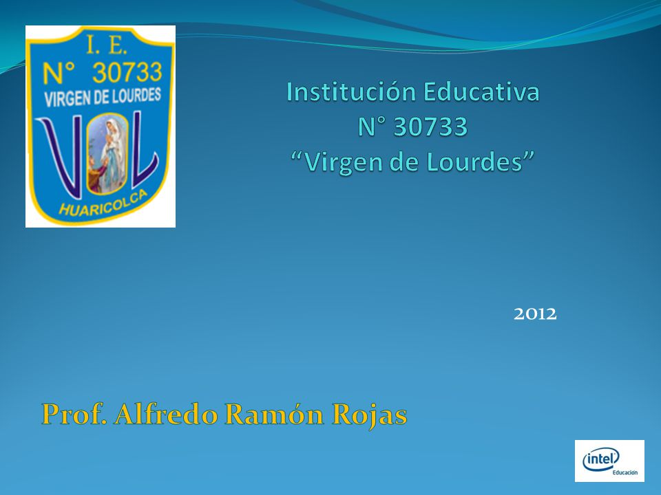 Institución Educativa N° 30733 Virgen de Lourdes