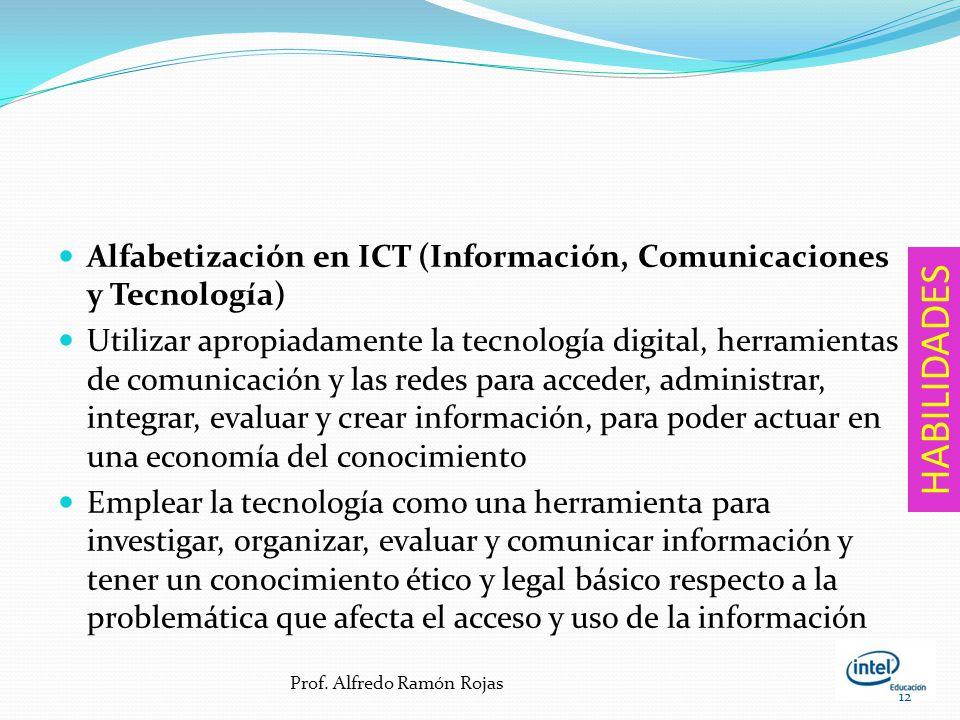 Alfabetización en ICT (Información, Comunicaciones y Tecnología)