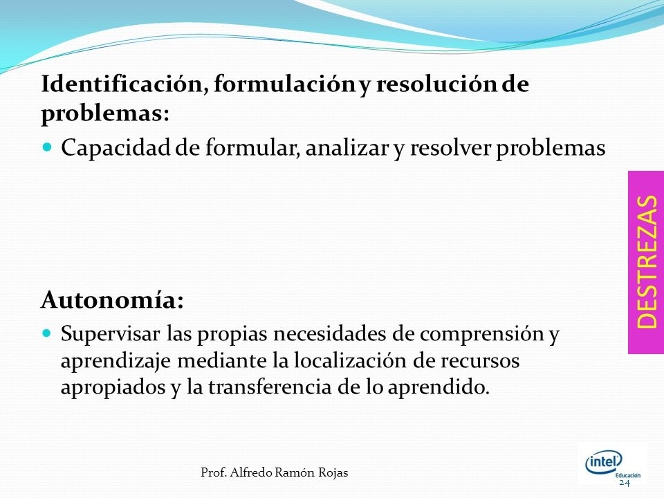 Identificación, formulación y resolución de problemas: