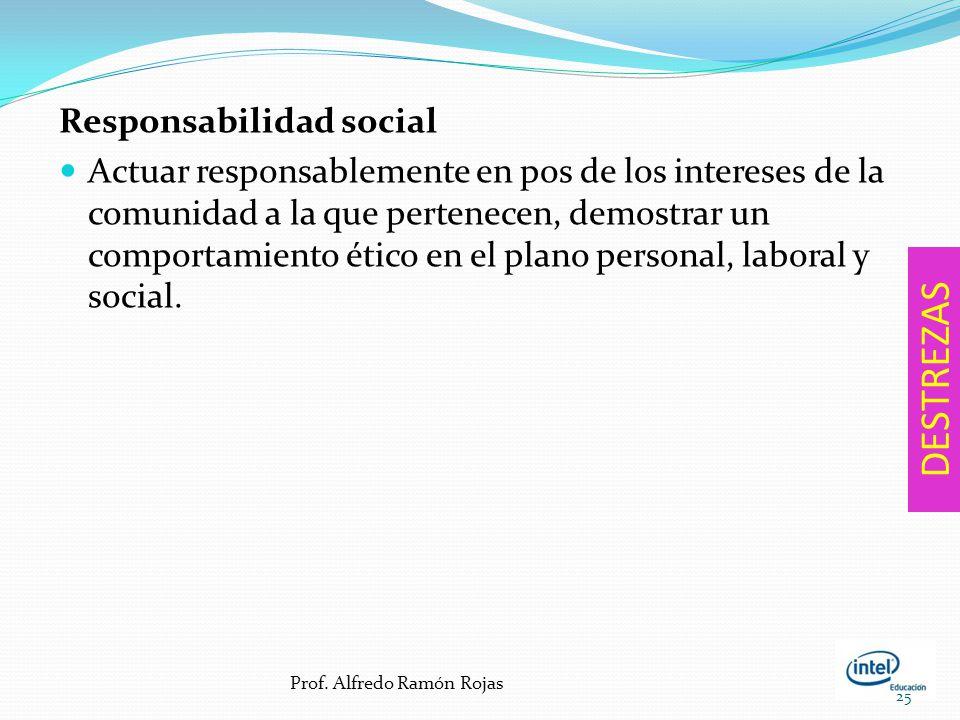 DESTREZAS Responsabilidad social