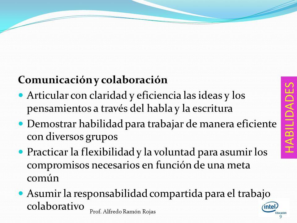 HABILIDADES Comunicación y colaboración