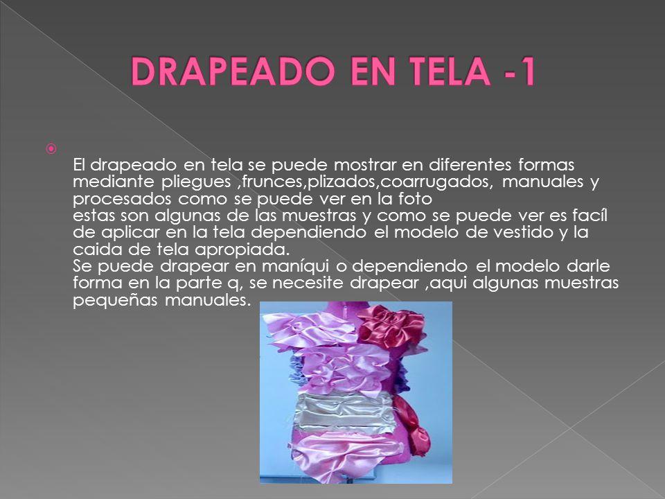 DRAPEADO EN TELA -1