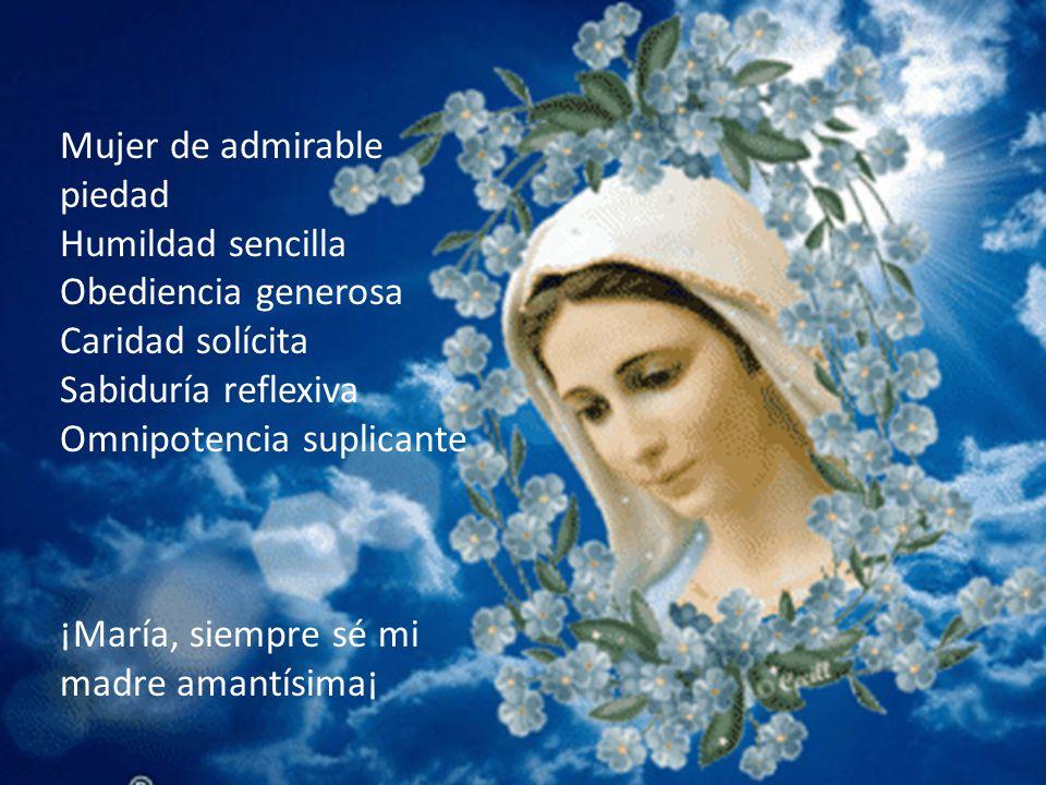 Mujer de admirable piedad