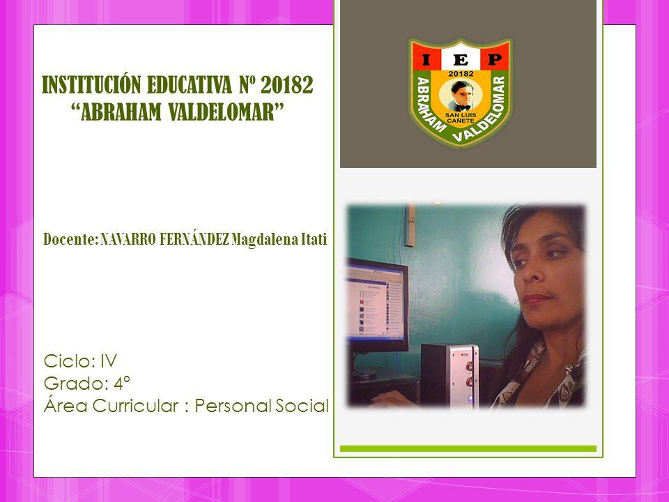 INSTITUCIÓN EDUCATIVA Nº 20182