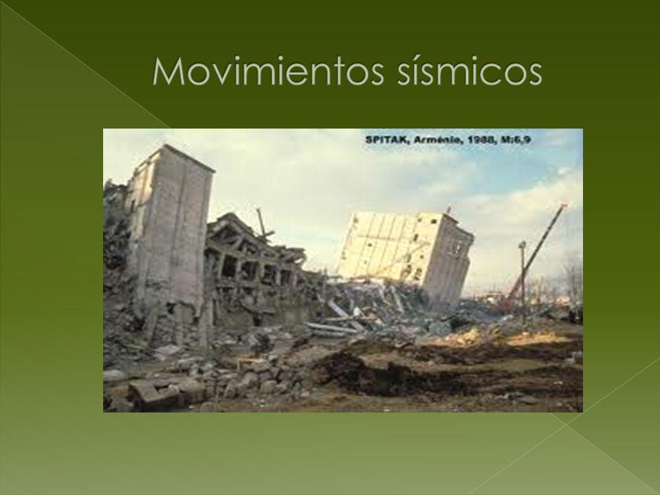 Movimientos sísmicos
