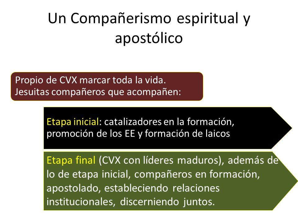 Un Compañerismo espiritual y apostólico