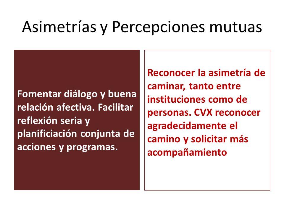 Asimetrías y Percepciones mutuas