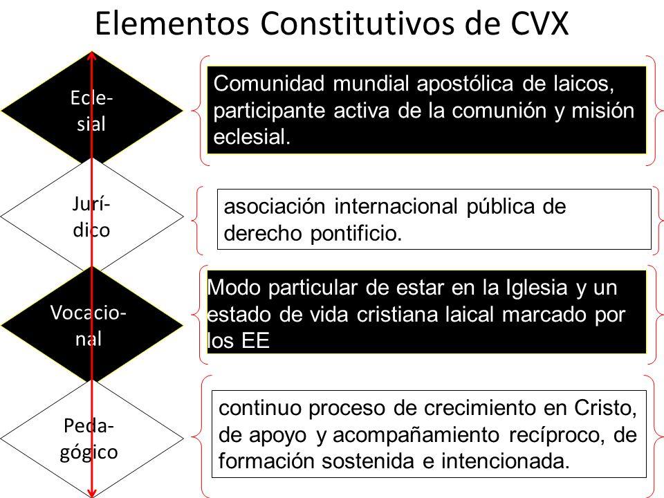 Elementos Constitutivos de CVX