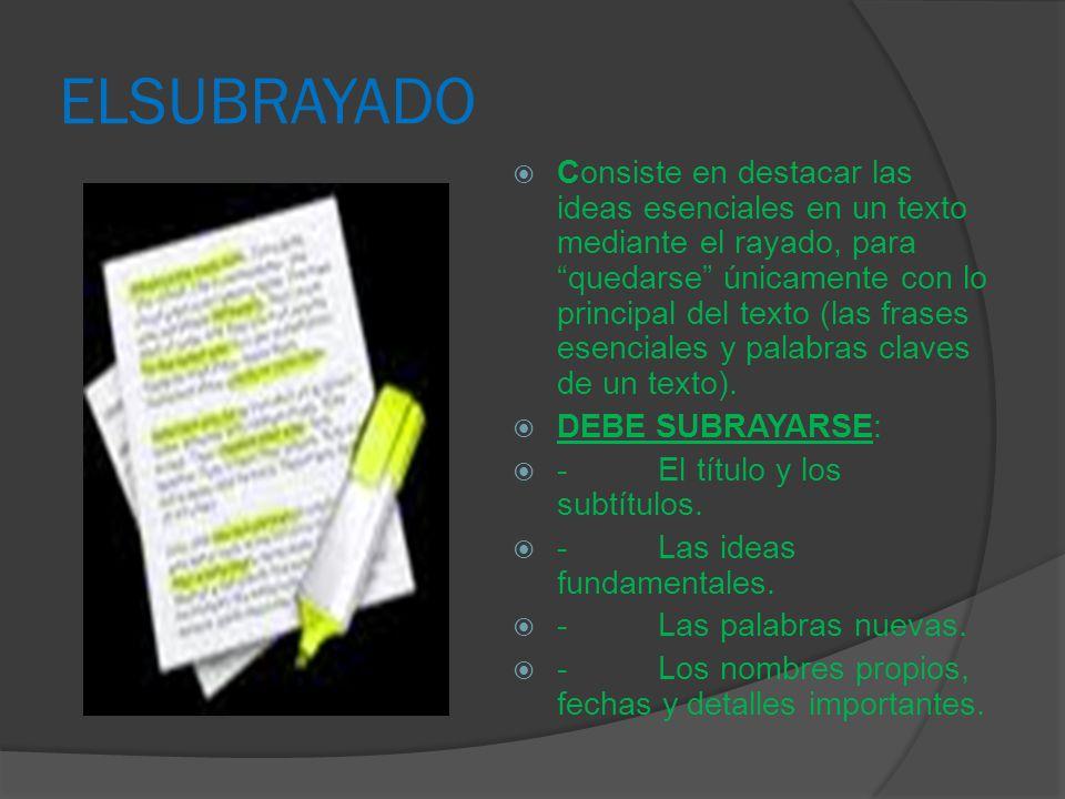 ELSUBRAYADO