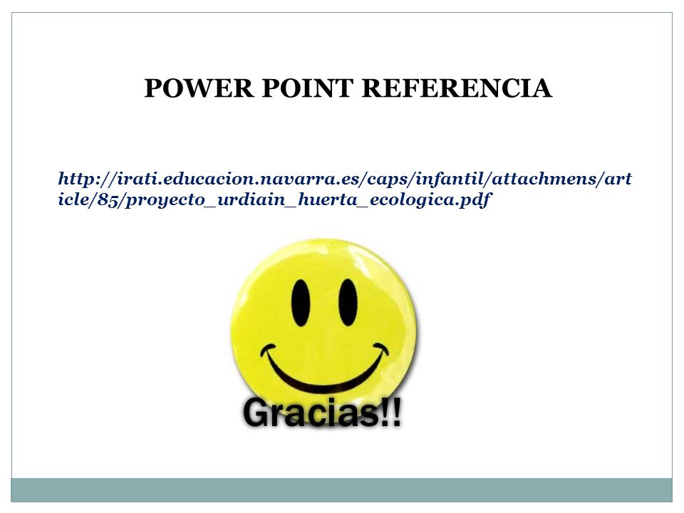 POWER POINT REFERENCIA