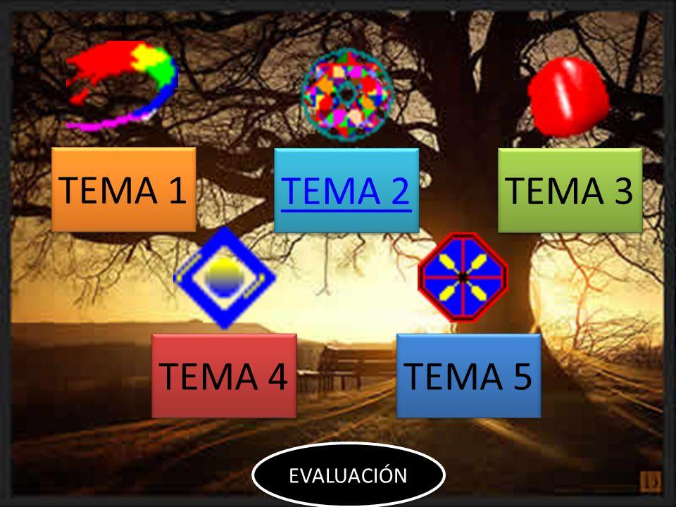 TEMA 1 TEMA 2 TEMA 3 TEMA 4 TEMA 5 EVALUACIÓN