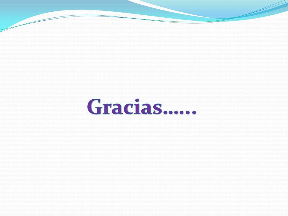 Gracias…...