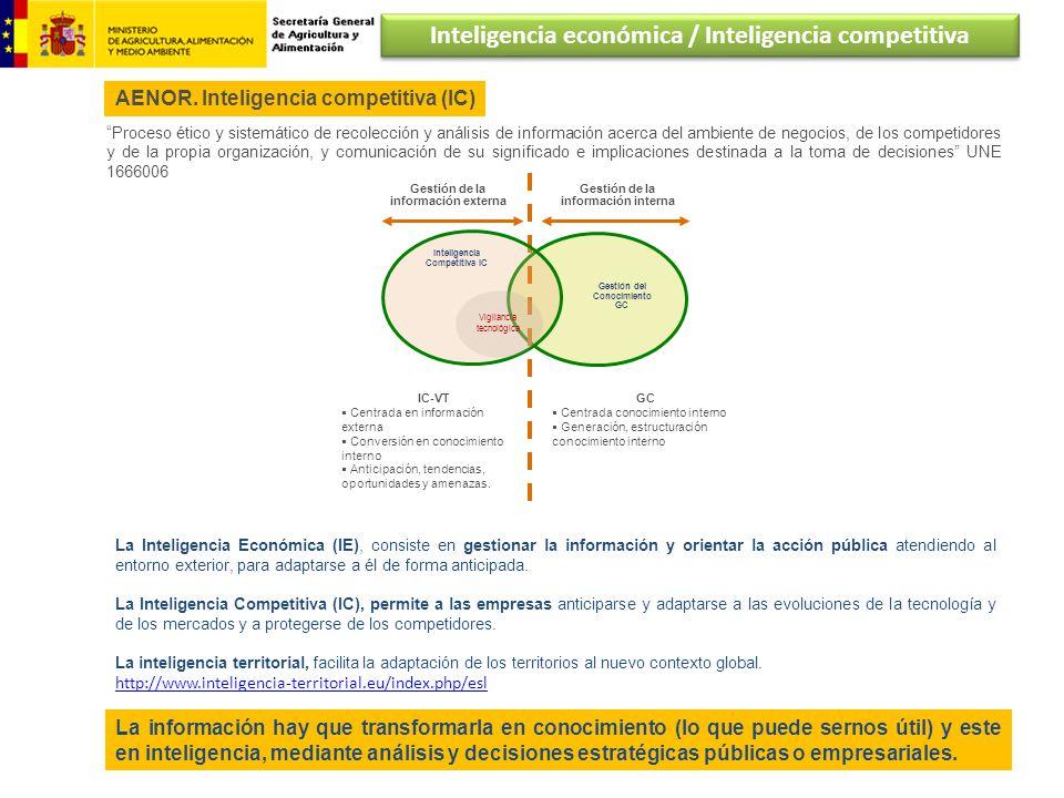 Inteligencia económica / Inteligencia competitiva