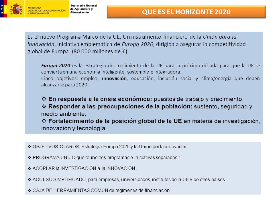 QUE ES EL HORIZONTE 2020