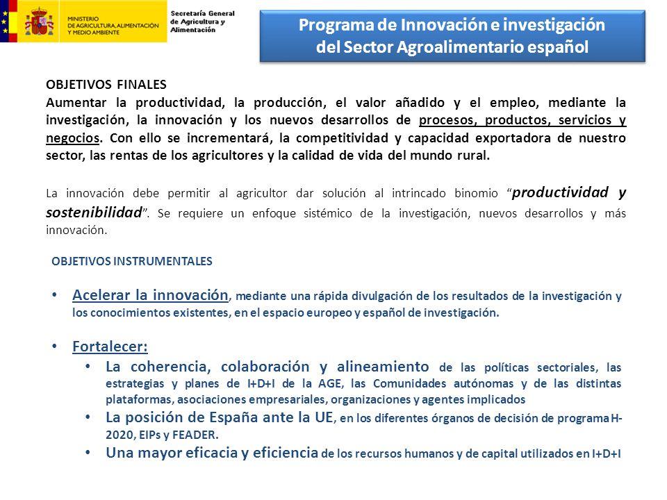 Programa de Innovación e investigación