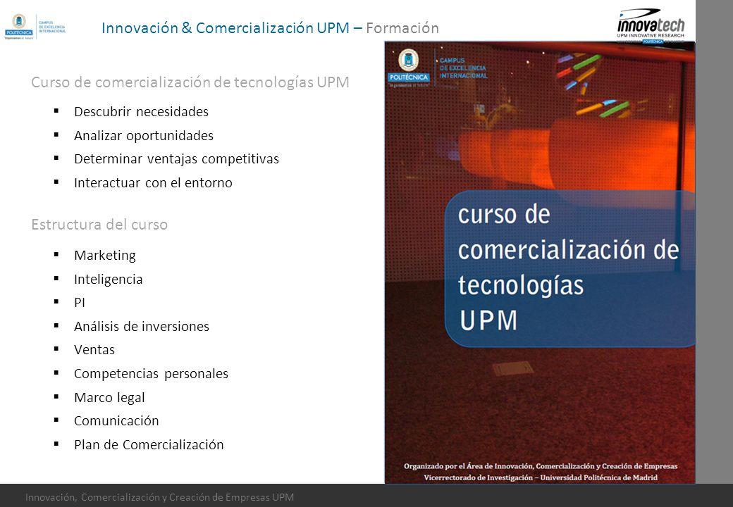 Innovación & Comercialización UPM – Formación