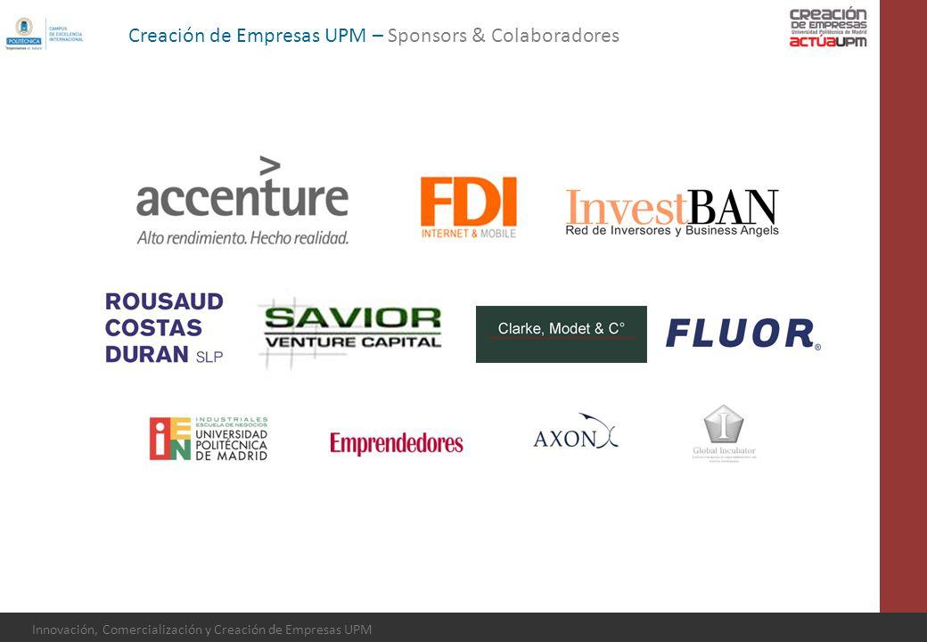 Creación de Empresas UPM – Sponsors & Colaboradores
