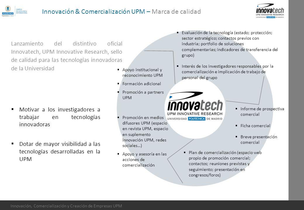 Innovación & Comercialización UPM – Marca de calidad