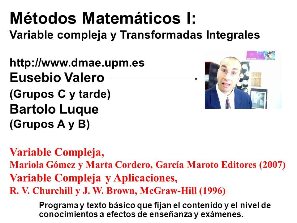 Métodos Matemáticos I: